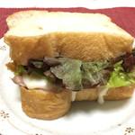 ファイブラン - サンドイッチ ステッペンチーズとロースハム 200円