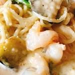 イタリアンダイニングTREOTTO - 海老&野菜のクリームベース
