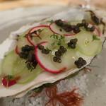 72538726 - 牡蠣とシャインマスカットのアッラネーヴェ