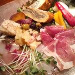 bene pesce - 前菜の盛り合わせ