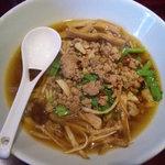 麺 eiji - '11.3.23 煮干ニラそば台湾風