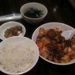 7254790 - 麻婆豆腐ランチ 750円