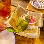 鎮座 タキビヤ - やきなすサラダ