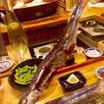 鎮座 タキビヤ - 秋刀魚