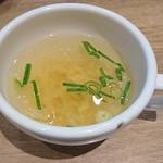 ギョウザ オウショウ - スープ