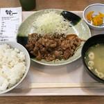 華さん食堂 - 焼肉定食=646円 税込