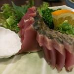 須崎魚河岸 魚貴 - 鰹 藁焼き塩タタキ ¥1500-