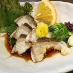 須崎魚河岸 魚貴 - ウツボタタキ ¥1200-