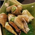 須崎魚河岸 魚貴 - チャンバラ貝 ¥780-