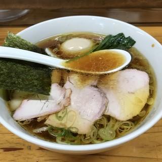 とら食堂 - 料理写真:【2017.8.8】焼豚麺¥910+半熟煮玉子¥100