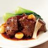 南国酒家 - 料理写真:国産牛バラ肉と栗の煮込み、トウチ仕立て