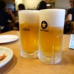 佰圓屋 いし河 - 生ビール 300円