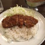カレー屋SATCHMO - インドカツカレー中辛(870円)