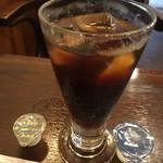 カレー屋SATCHMO - ランチサービスのアイスコーヒー
