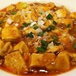 華味一番 - ラー油の辛さが前面に出てます、麻婆豆腐。