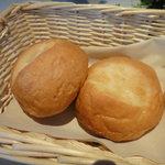 7255136 - 餅粉入りのパン。