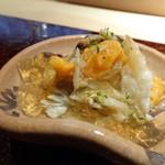 菊鮨 - ◆山口の渡り蟹・・甘くていいお味、出汁で作られたジュレが美味しくて。