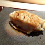 菊鮨 - ◆穴子・・出す直前に炭火で炙られます。フワトロ。