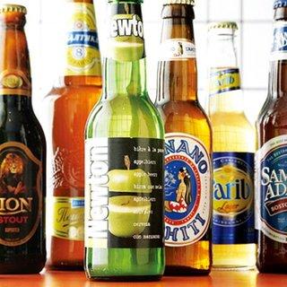 品揃えに自信あり!世界のビール約60種と充実のラインナップ★