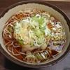 福寿草 - 料理写真:かき揚げそば(税込み390円)の大盛(税込み100円)