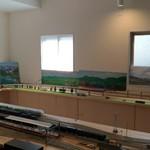 森のマミー - 森のマミーの奥にある鉄道模型②