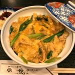 ぎをん 常盤 - 衣笠丼