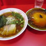 72555298 - 天津丼(小)とラーメンセット@1000円