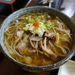 そば処 おおけやき - 料理写真:冷たい肉蕎麦