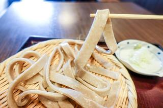 おざわ - 極太蕎麦