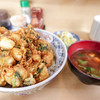天健 - 料理写真:ボリューム満点かき揚げ丼