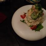 魚専門居酒屋 ころすけ - ポテトサラダ。