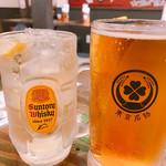 東京ミート酒場 - ハイボール・泡なし生ビール