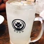 東京ミート酒場 - 自家製リモンチェッロサワー