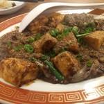 鶏○酒場 - 辛しびれる麻婆豆腐。