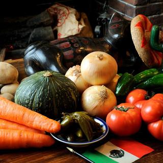 野菜たっぷり♪野菜ソムリエが作る本物のメキシコ料理♪