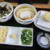 丸まさ - 料理写真:[うどん食べくらべセット」&「半熟卵の天ぷら」