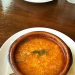 72559311 - スープにも使えるスペインの土鍋は便利ですネ♪