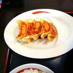 拉麺本家夢屋 - 意外と美味しい餃子