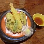 旬彩料理 おとと - 天ぷら