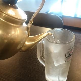 ◆ホッピー&焼酎◆焼酎はやかんでお好きなだけ♪