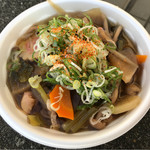 カシマサッカースタジアム 売店 - 料理写真:けんちん蕎麦