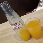 いせや - オレンジジュース