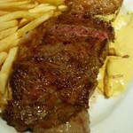 東京オーブン - サーロインステーキとフリット