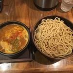 72565105 - 辛旨濃厚つけめん(太麺 中盛300g)