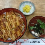お食事処梅山 - (20170902)あなご丼