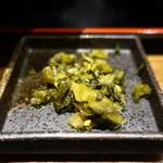 九州 熱中屋 - 高菜漬けアップ