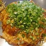 お好み焼 長田屋 - (20170903)広島産カキ入りお好み焼