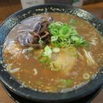 72568411 - 濃香太麺とんこつ(塩)