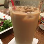 ザ・フレンチトーストファクトリー - セットのアイスカフェオレ(250円)