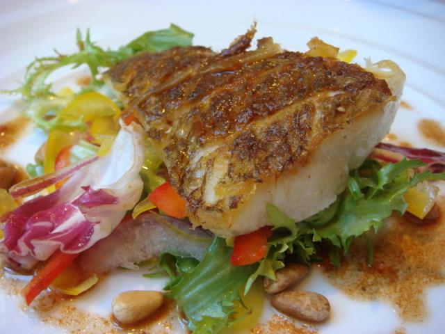 ジャルディーノ - 本日の魚料理(真鯛のポアレ)